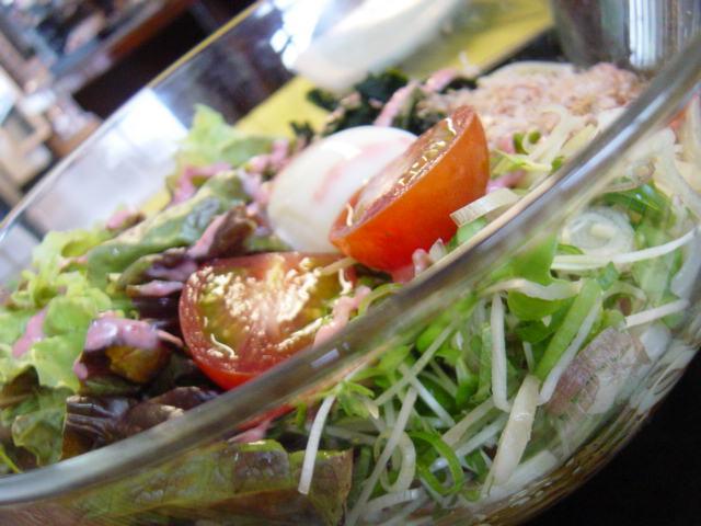 サラダうどん/そば(夏季限定)